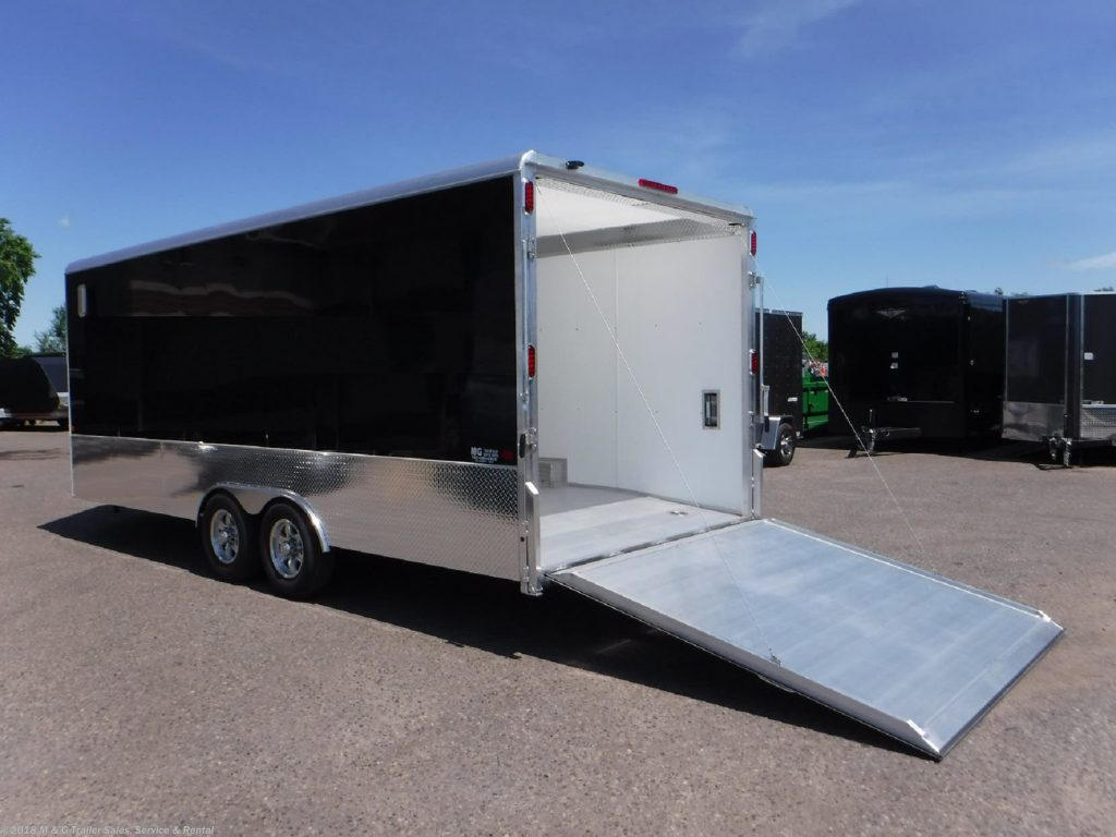 Choosing The Right Car Hauler MG Trailer Sales And Service - Show car trailer
