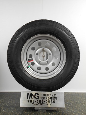 175/80-13 Steel Wheel & Bias Tire