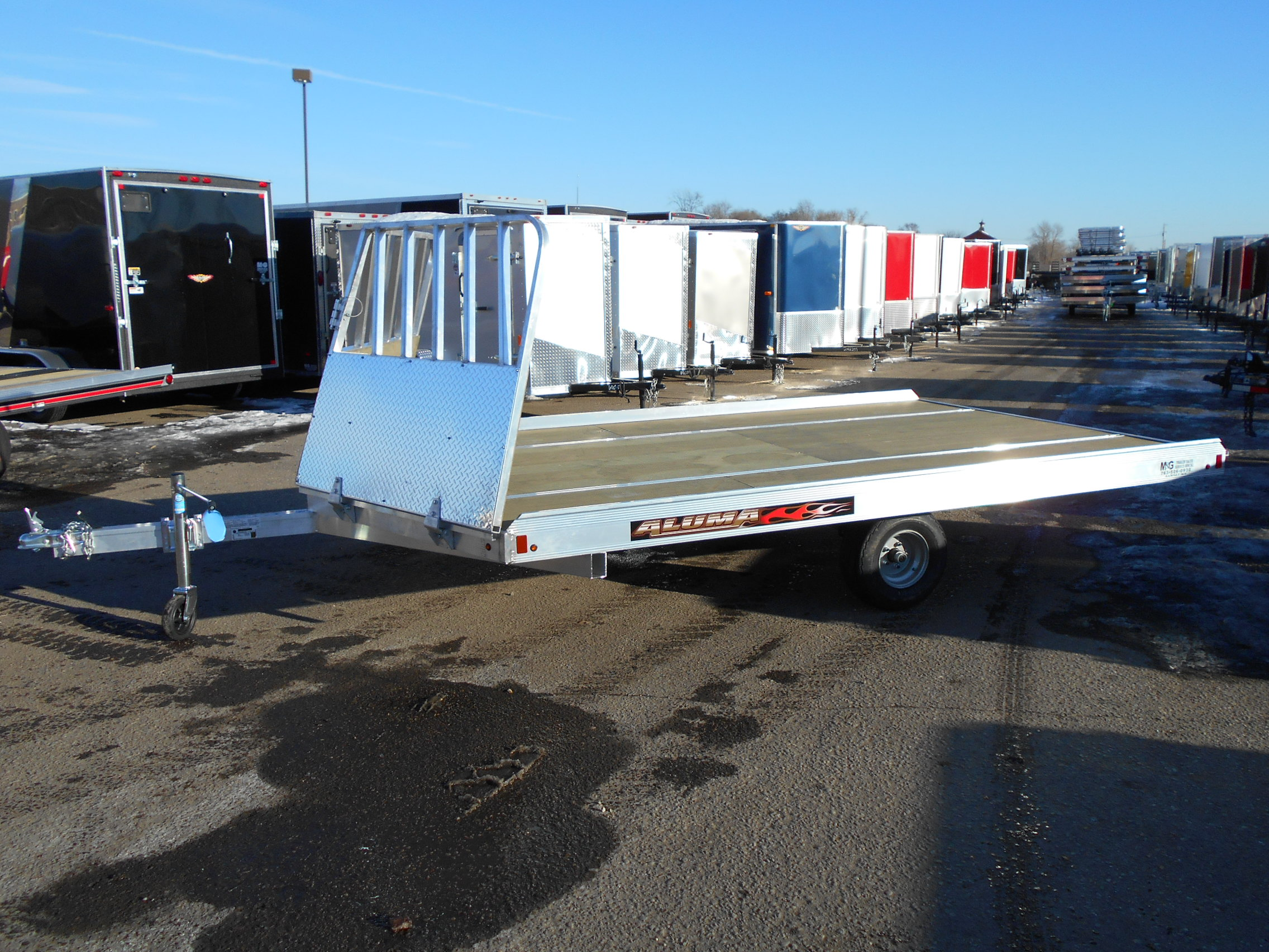 Used snowmobile trailer value guide.