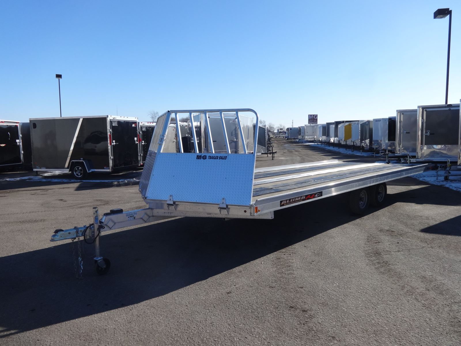 snowmobile trailer rental